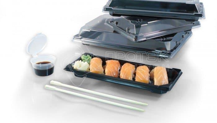 Упаковка для суши ПК-1005 крышка ПК-1006 дно