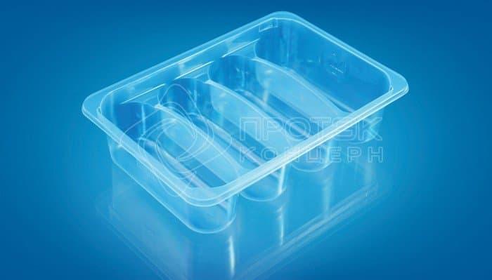Упаковка для мясных полуфабрикатов ПР-Л-210Х148Х45 С4