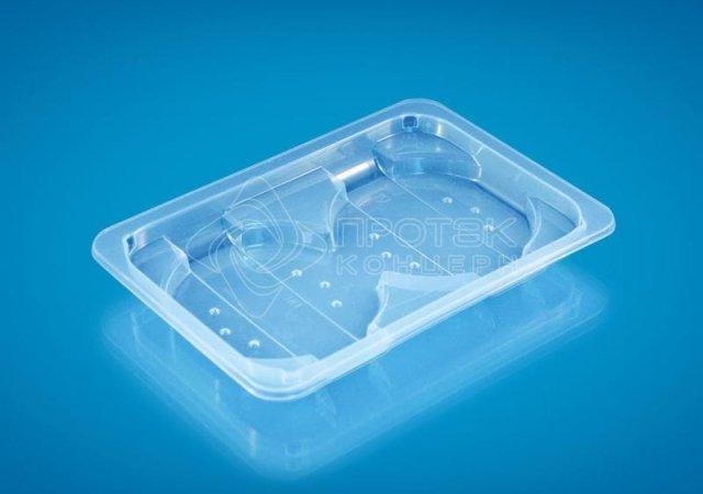 Упаковка для мясных полуфабрикатов ПР-Л-210х148х23 С2